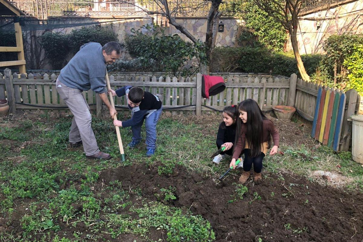 Bahçemiz ekime hazır!