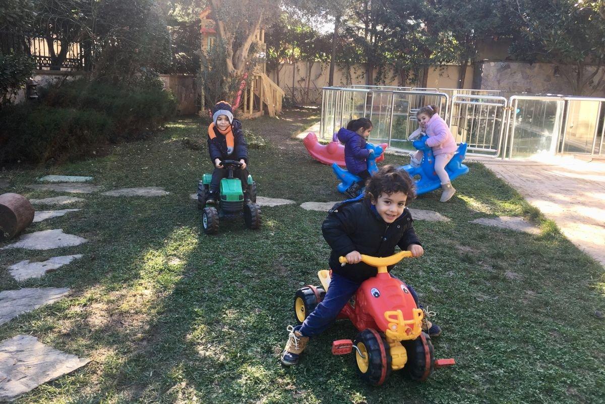 Çocuklarımız bahçede!
